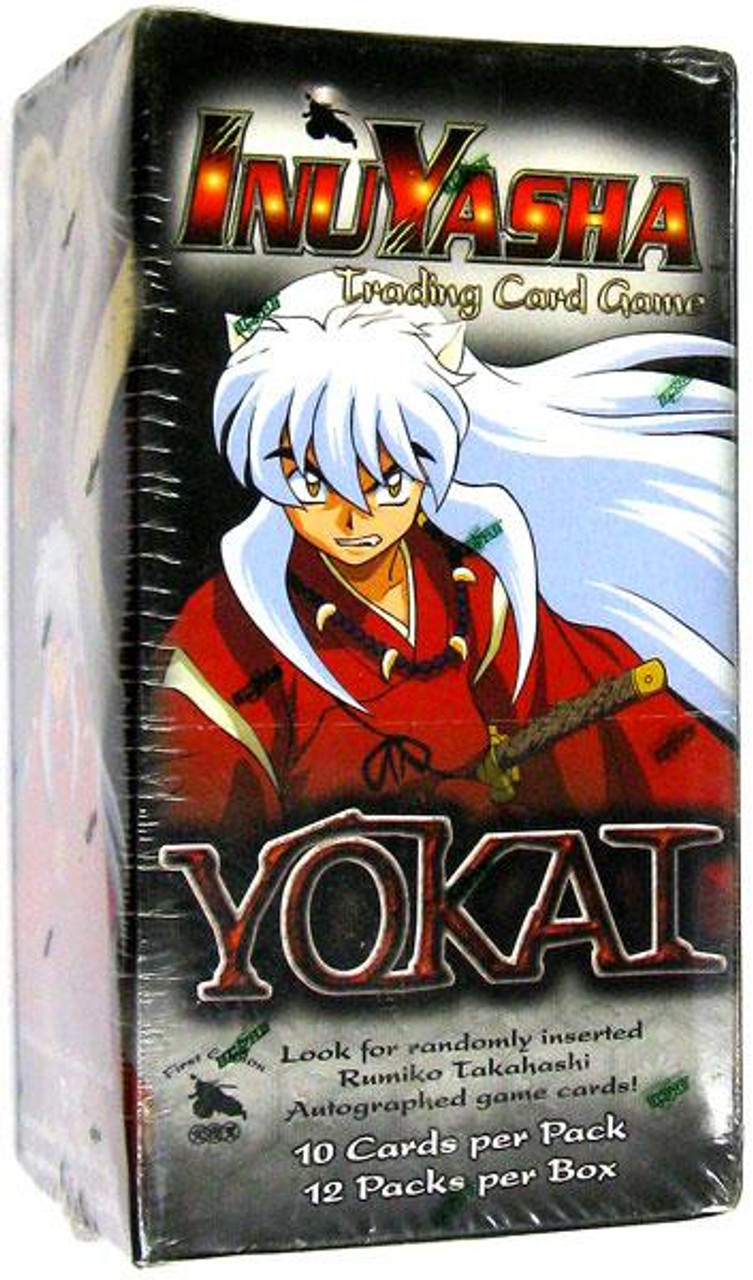 InuYasha Trading Card Game Yokai Booster Box