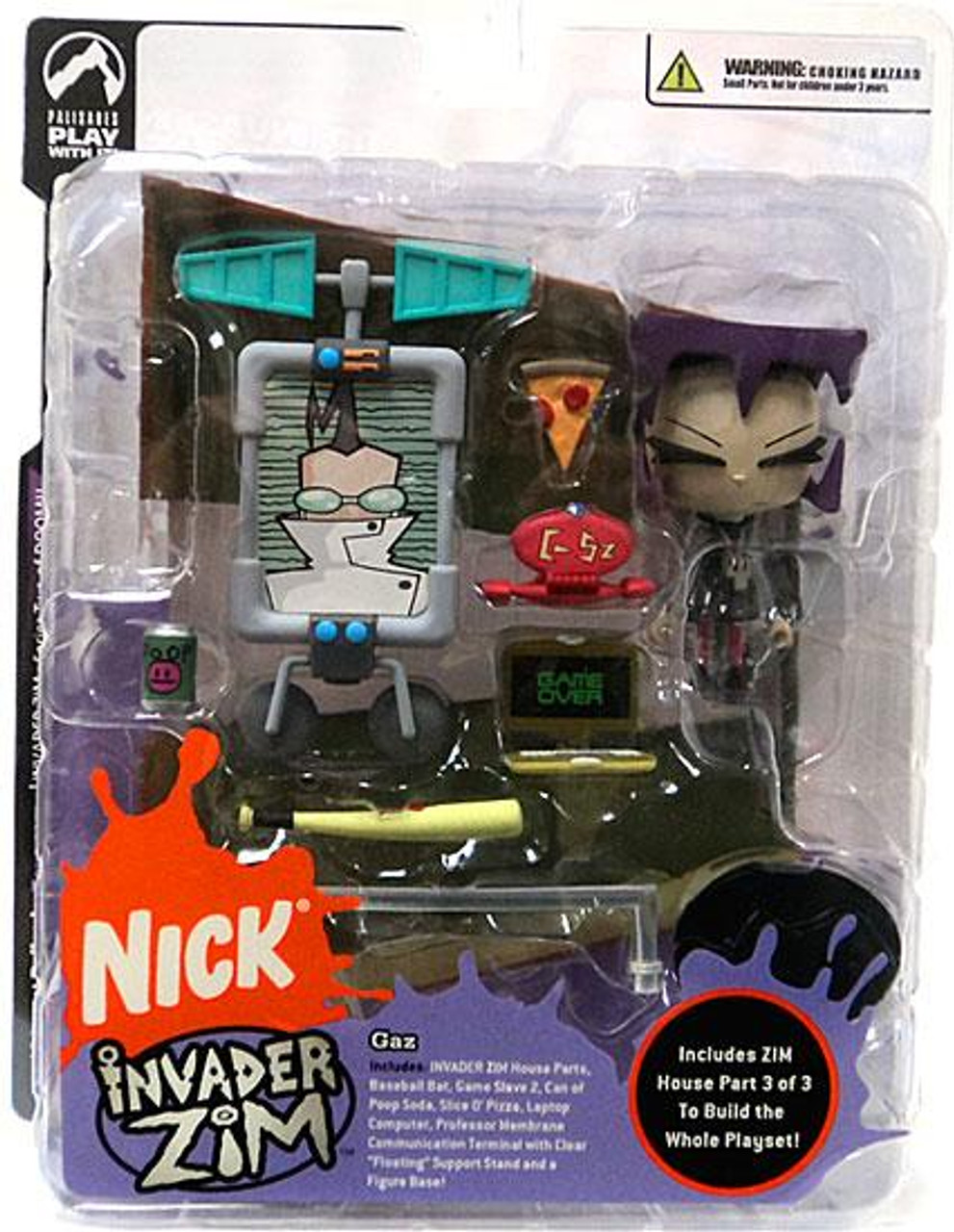Invader Zim Series 2 of Doom Gaz Action Figure