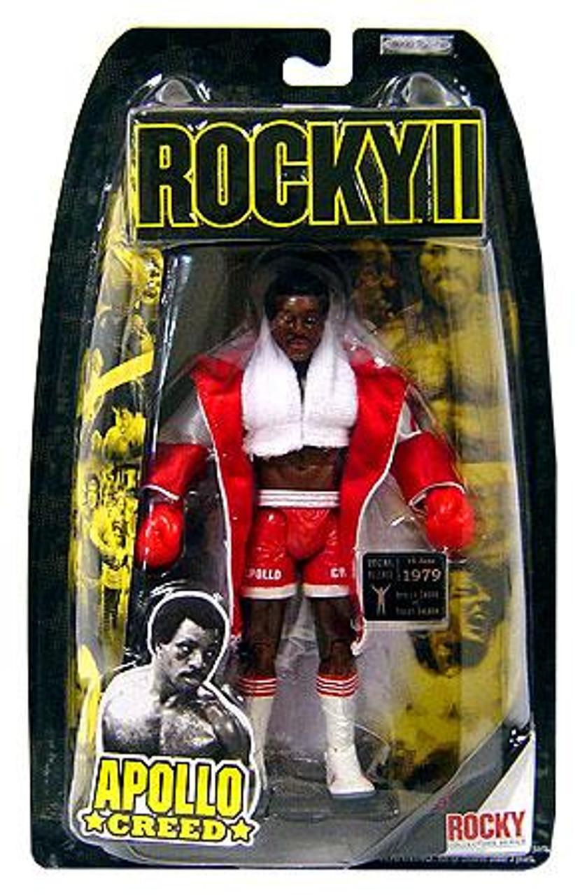Rocky II Series 2 Apollo Creed Action Figure [White Robe]