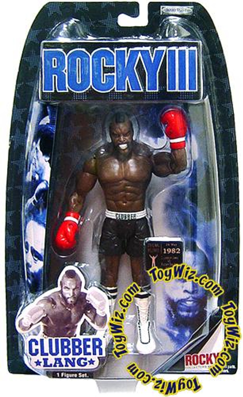 Rocky III Series 3 Clubber Lang Action Figure [Fight Gear]