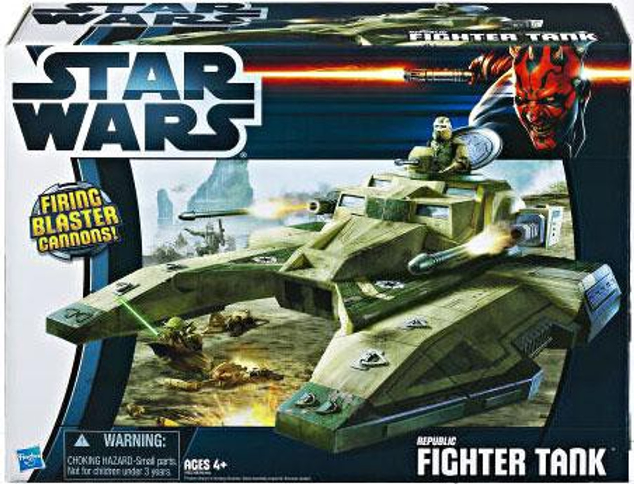 Star Wars Revenge of the Sith Vehicles 2012 Republic Fighter Tank Action Figure Vehicle