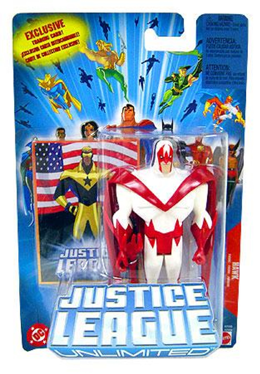 Justice League Unlimited Hawk Action Figure