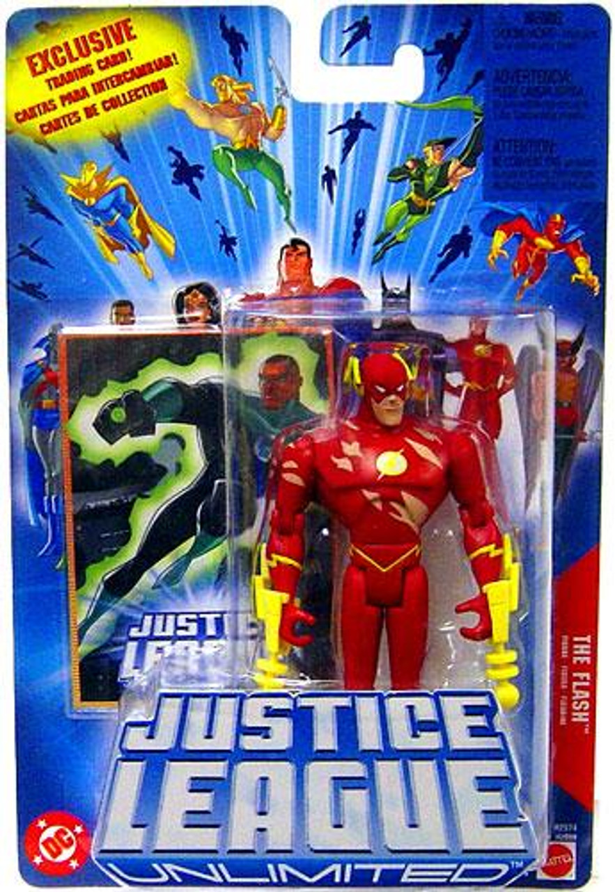 Justice League Unlimited The Flash Action Figure [Battle Damaged]