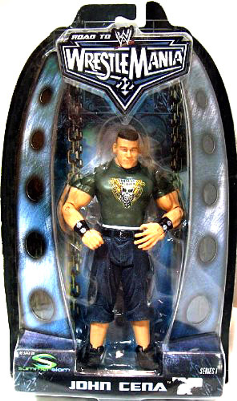 WWE Wrestling Road to WrestleMania 22 Series 1 John Cena Action Figure