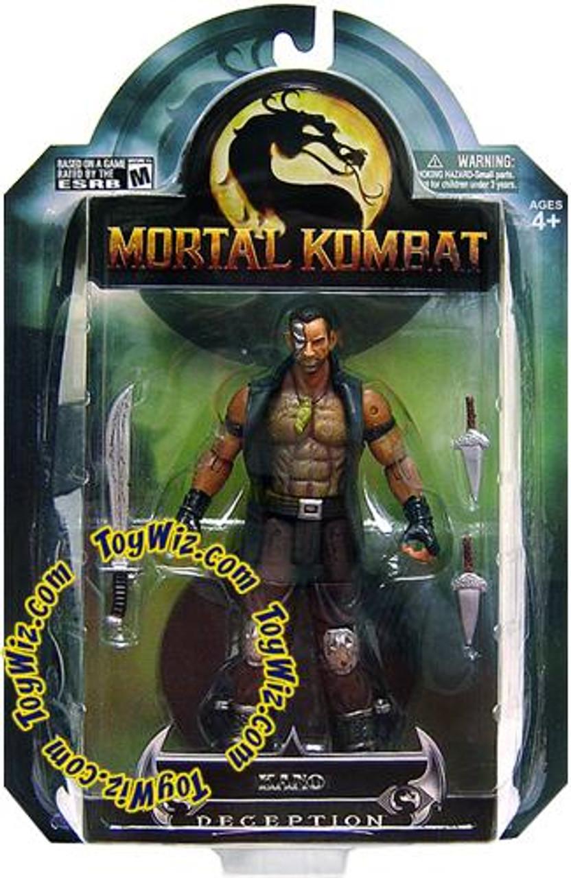 Mortal Kombat Deception Series 3 Kano Action Figure