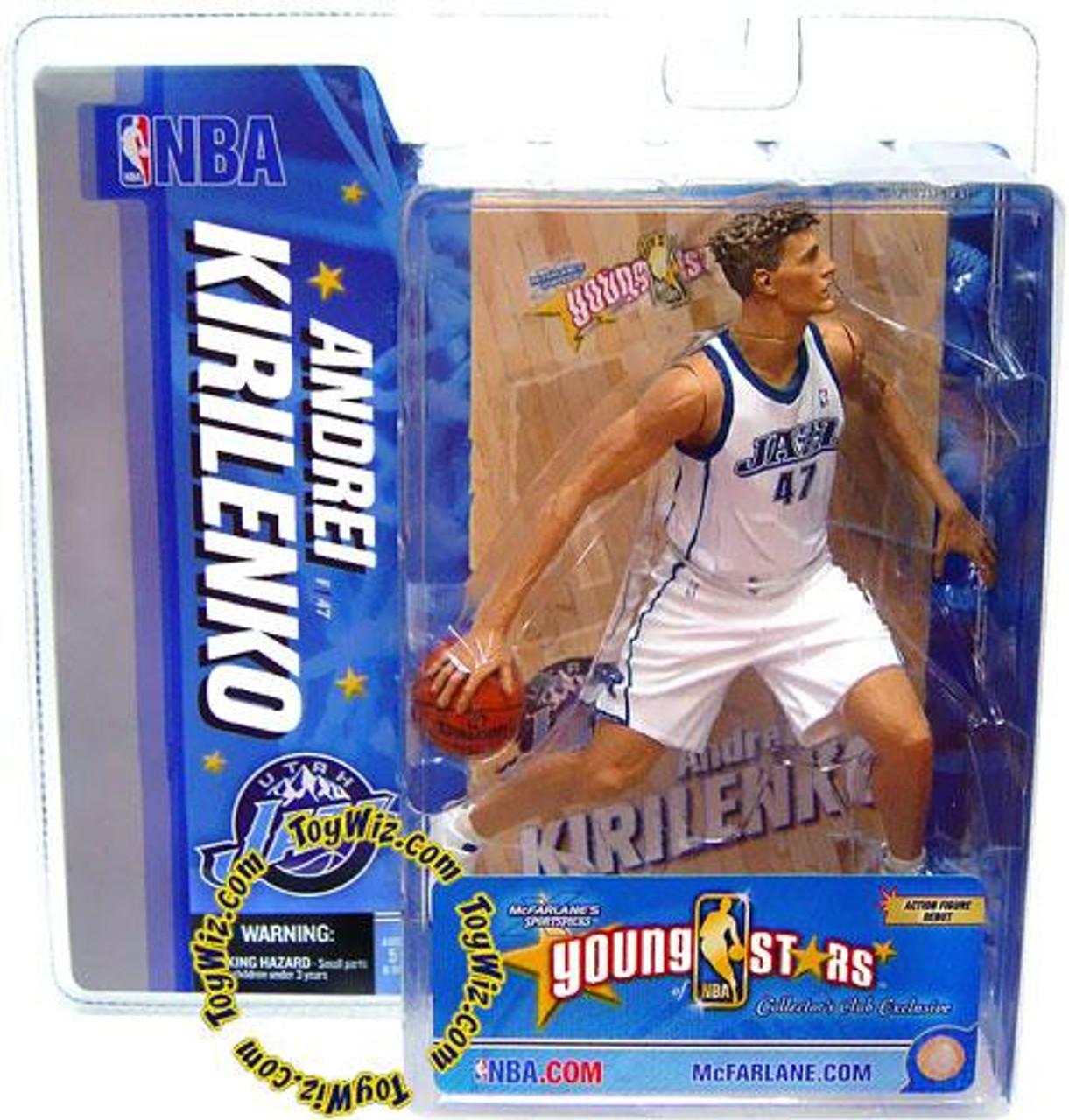 McFarlane Toys NBA Utah Jazz Sports Picks Young Stars Andrei Kirilenko Exclusive Action Figure