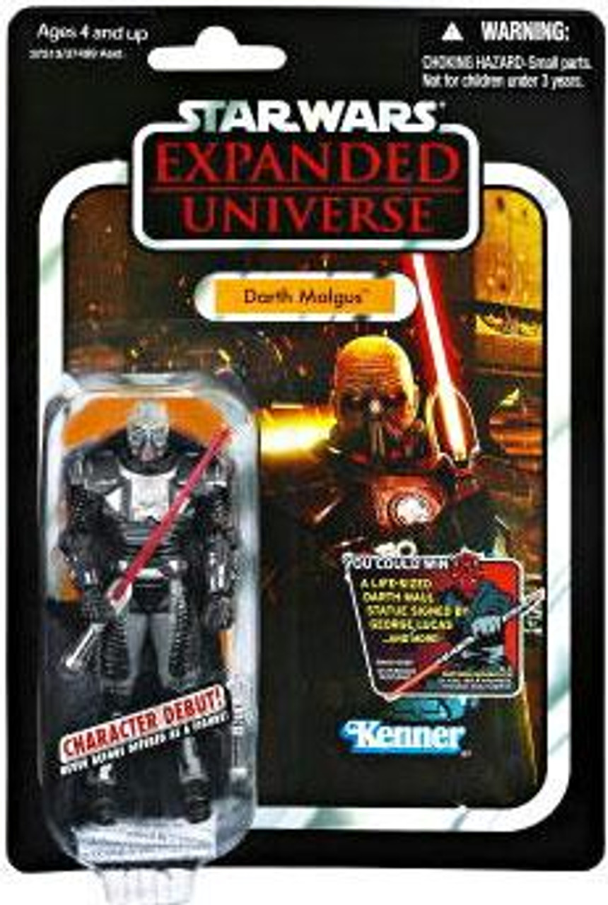 Star Wars Expanded Universe Vintage Collection 2012 Darth Malgus Action Figure #96