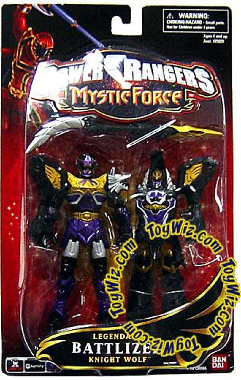 Power Rangers Mystic Force Legendary Battlized Knight Wolf Action Figure