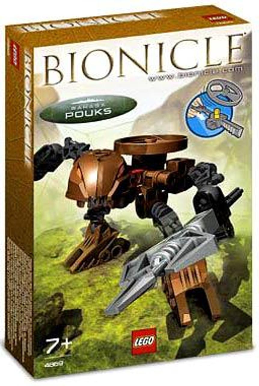 LEGO Bionicle Rahaga Pouks Set #4869