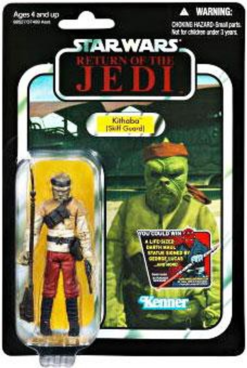 Star Wars Return of the Jedi Vintage Collection 2012 Kithaba Action Figure #56 [Skiff Guard]