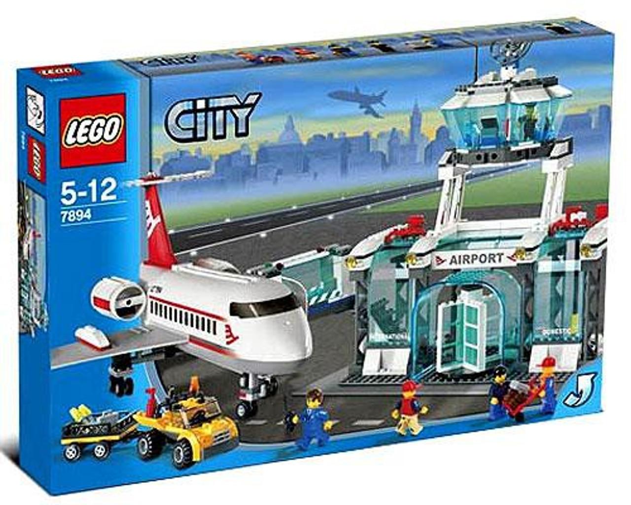 LEGO City Airport Set 7894 Damaged Package - ToyWiz