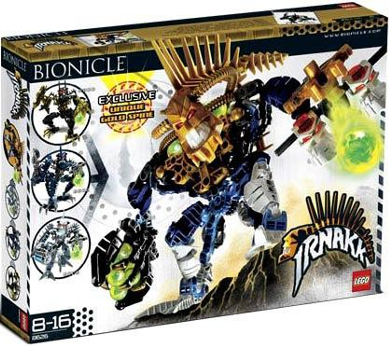 LEGO Bionicle Irnakk Exclusive Set #8626