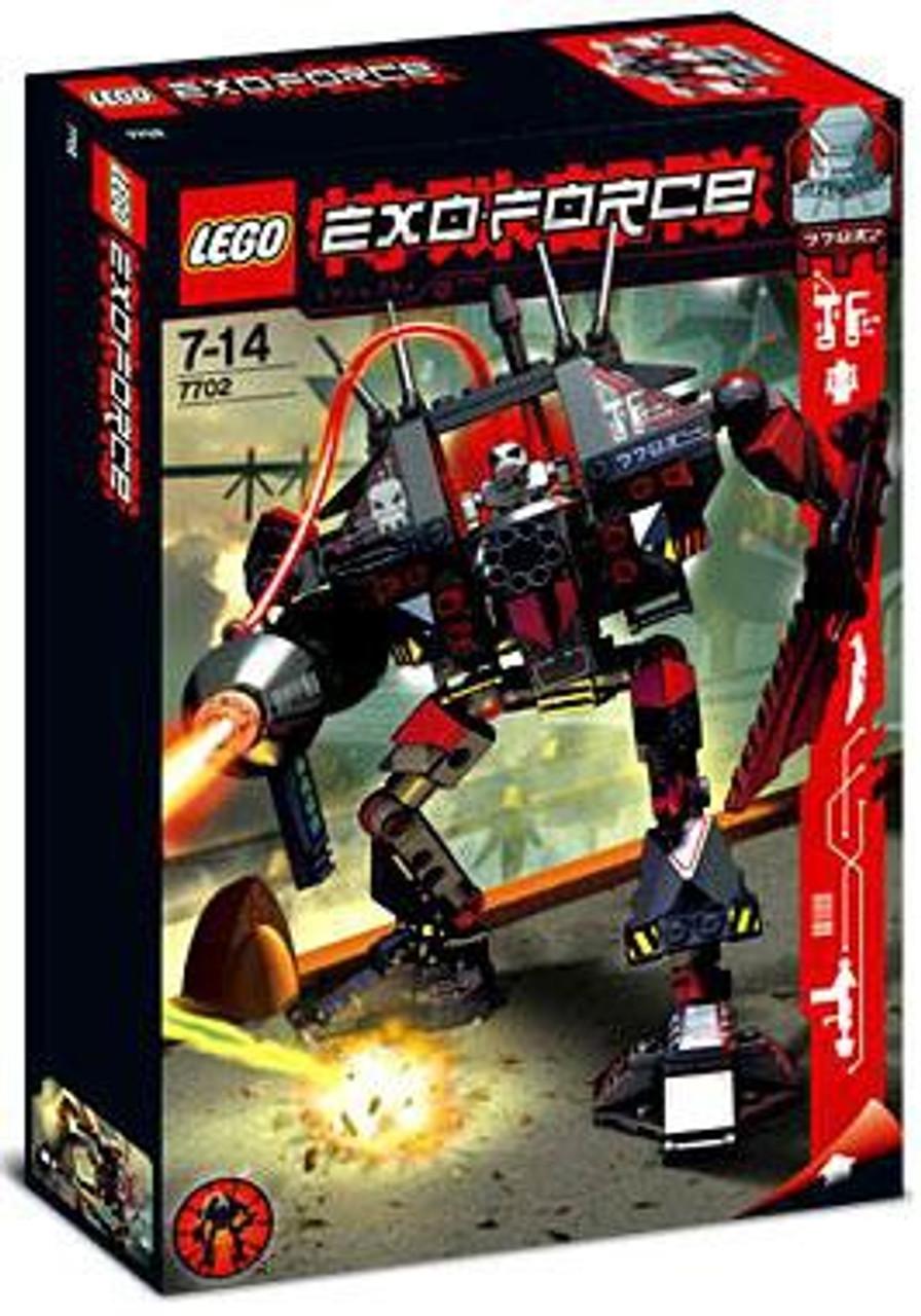 LEGO Exo Force Thunder Fury Set #7702