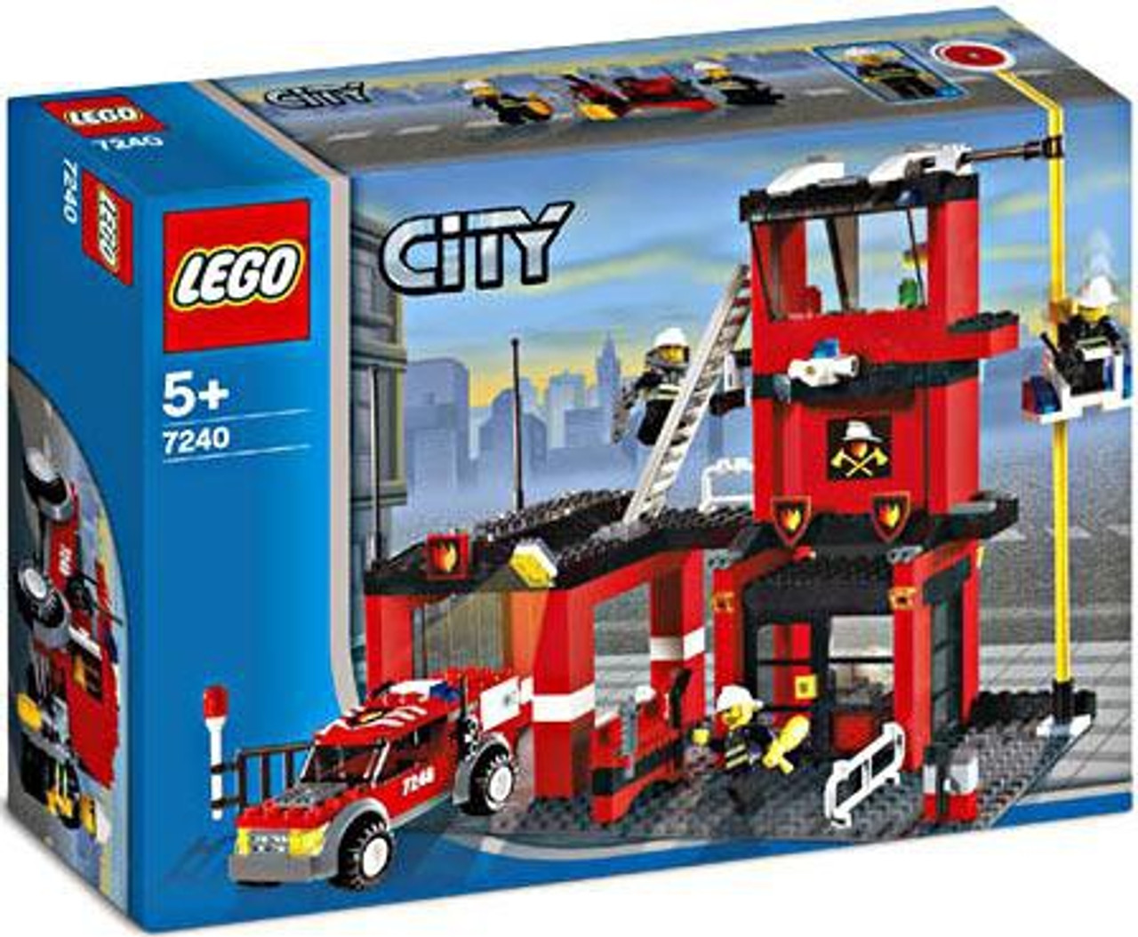 LEGO City Fire Station Set #7240