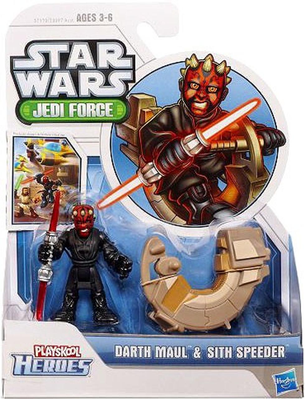Star Wars Jedi Force Darth Maul & Sith Speeder Mini Figure 2-Pack
