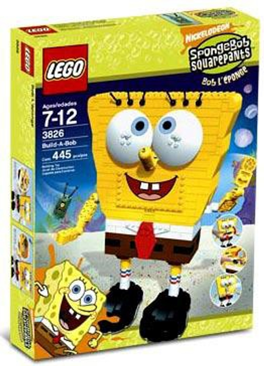 LEGO Spongebob Squarepants Build A Bob Set #3826