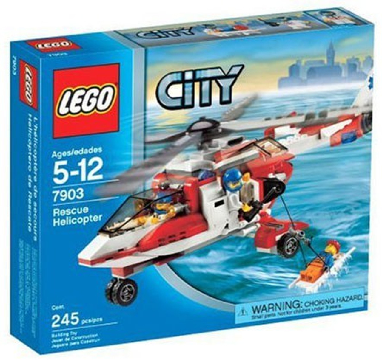 LEGO City Rescue Helicopter Set #7903