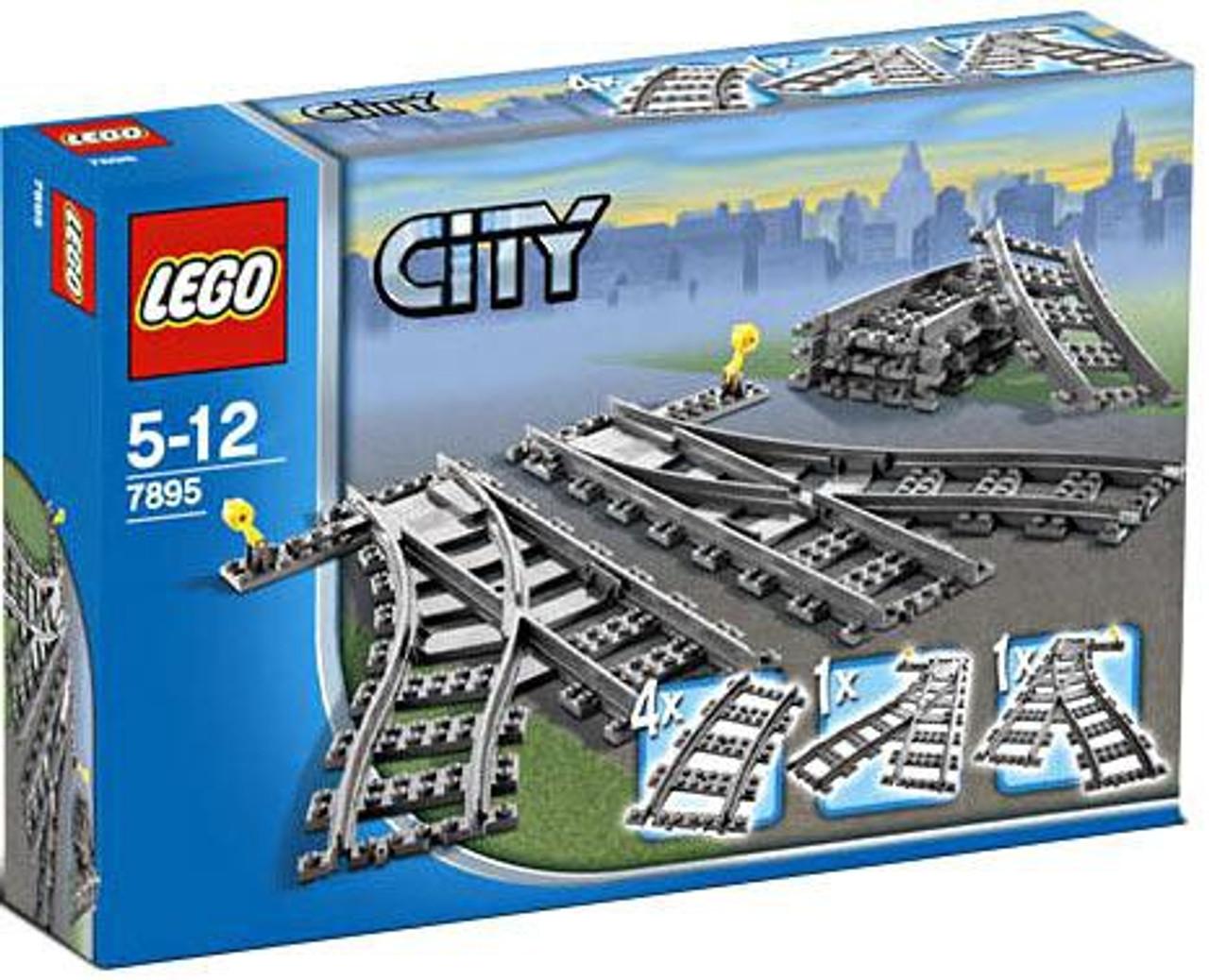LEGO City Switch Tracks Set #7895