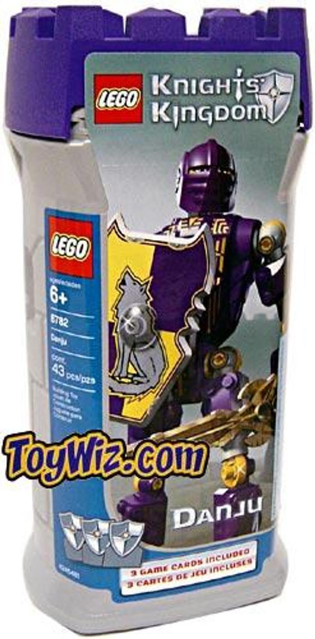LEGO Knights Kingdom Series 1 Danju [Purple] Set #8782