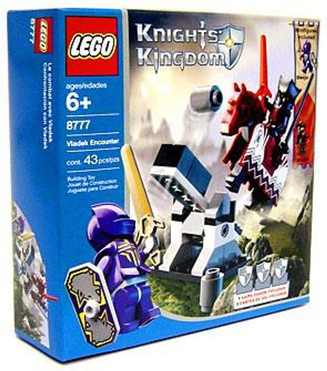 LEGO Knights Kingdom Vladek Encounter Set #8777