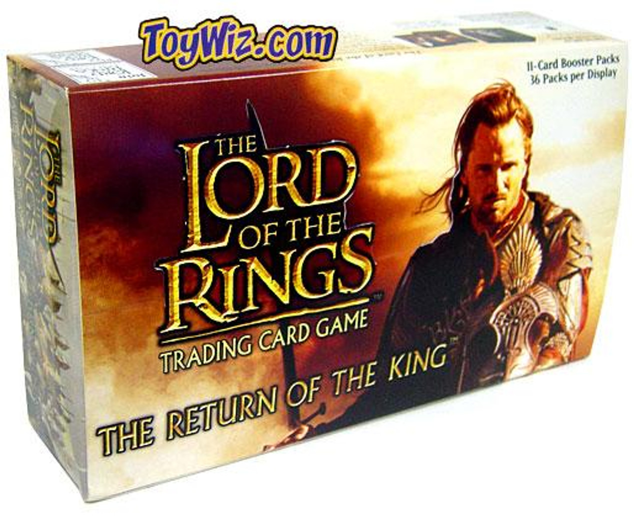 The Lord of the Rings Trading Card Game Return of the King Booster Box