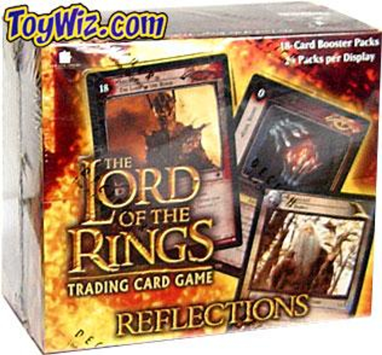 The Lord of the Rings Trading Card Game Reflections Booster Box [24 Packs]