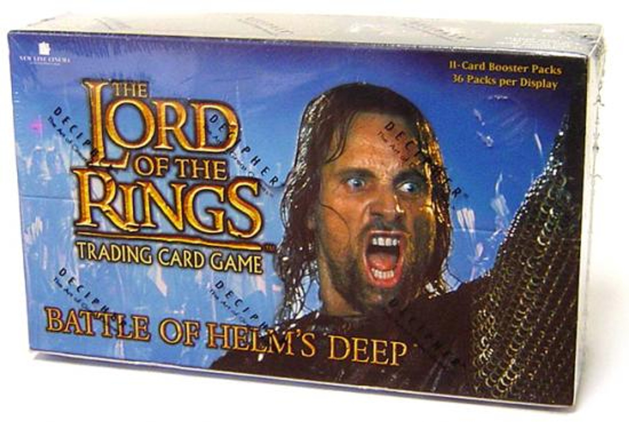 The Lord of the Rings Trading Card Game Battle of Helm's Deep Booster Box