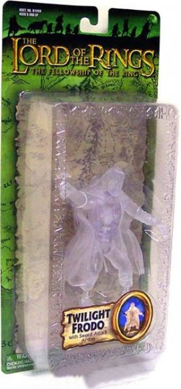 The Lord of the Rings The Fellowship of the Ring Series 1 Frodo Baggins Action Figure [Twilight]