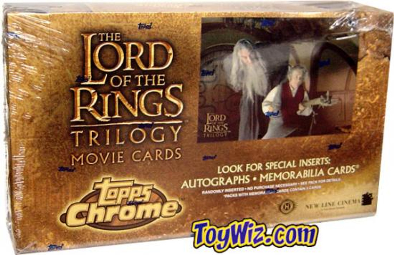The Lord of the Rings Trilogy Trading Card Box