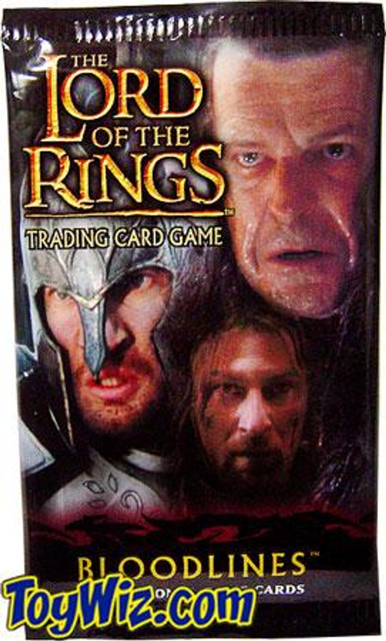 The Lord of the Rings Trading Card Game Bloodlines Booster Pack