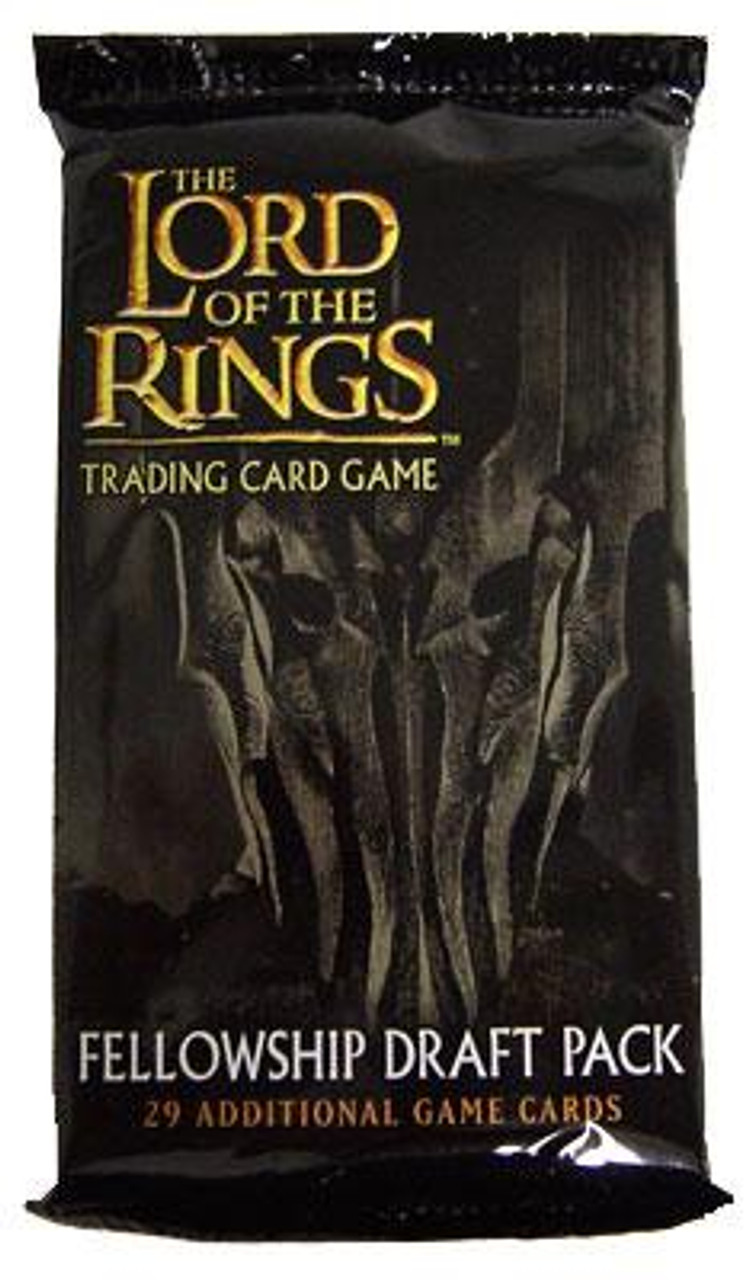The Lord of the Rings Trading Card Game Fellowship Draft Pack Booster Pack