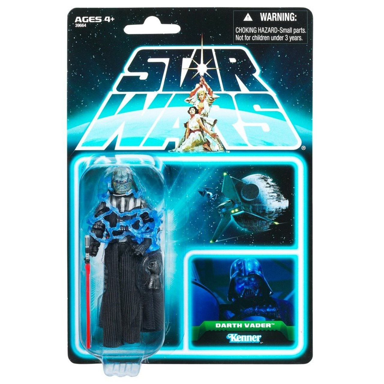 Star Wars Return of the Jedi Vintage Collection 2012 35th Anniversary Darth Vader Action Figure #06 [Electrocuted]