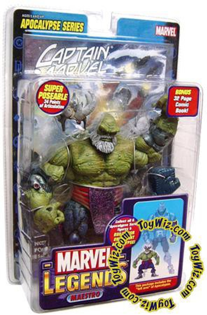 Marvel Legends Series 12 Apocalypse Maestro Hulk Action Figure