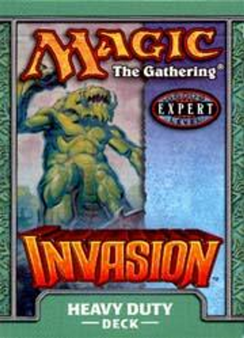 MtG Invasion Heavy Duty Theme Deck [Sealed Deck]