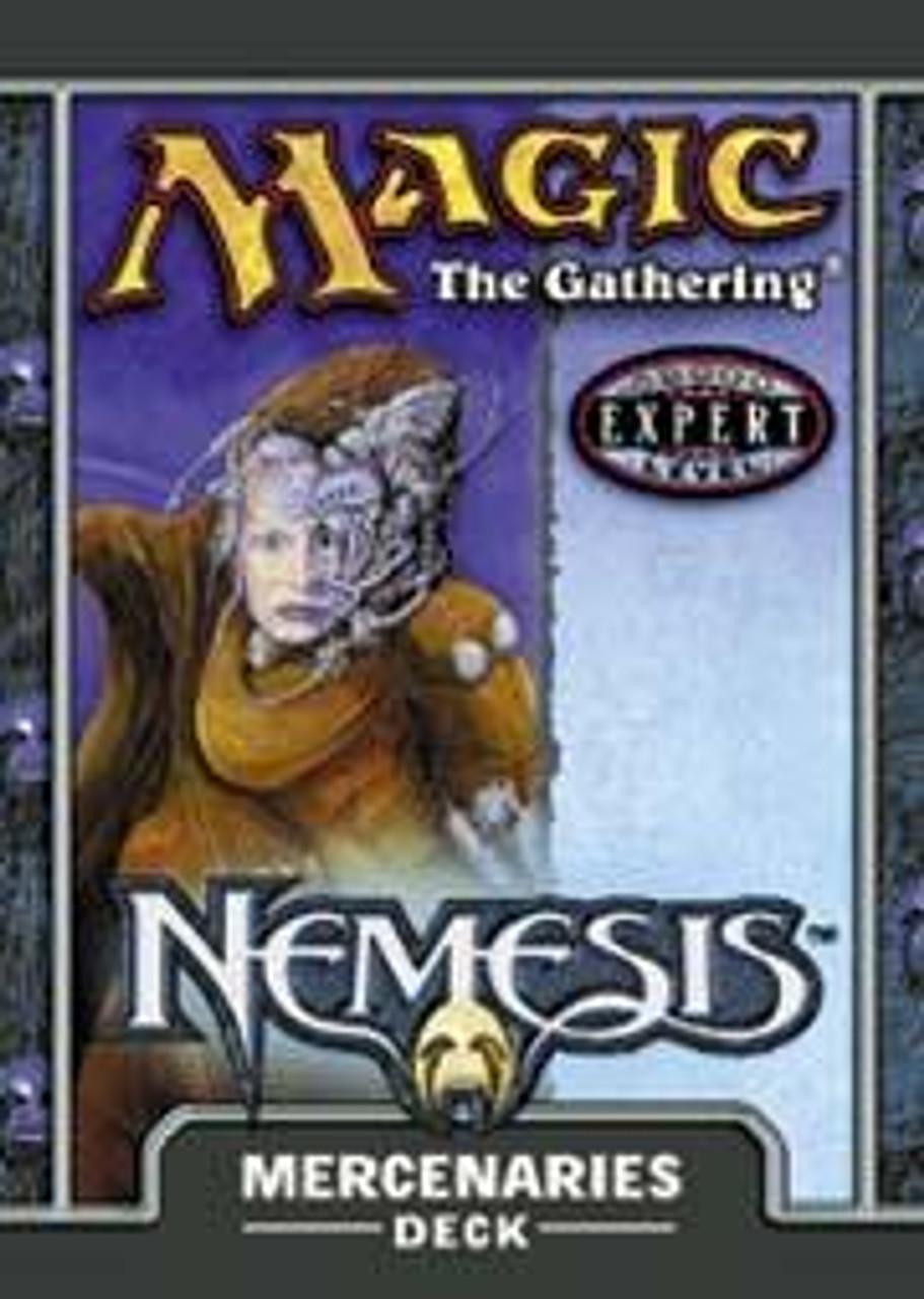 MtG Nemesis Mercenaries Theme Deck [Sealed Deck]
