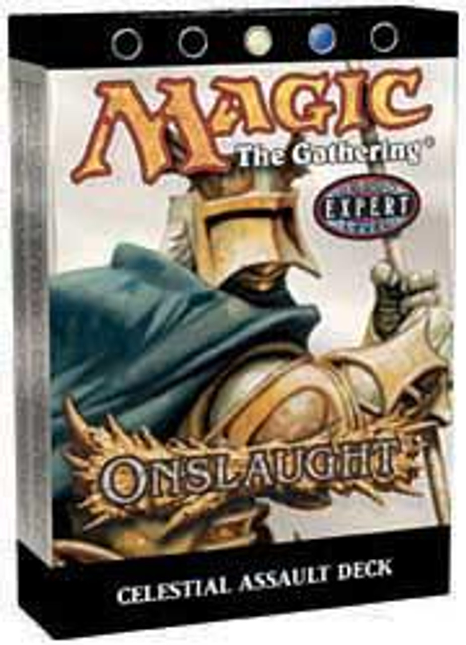 MtG Onslaught Celestial Assault Theme Deck [Sealed Deck]