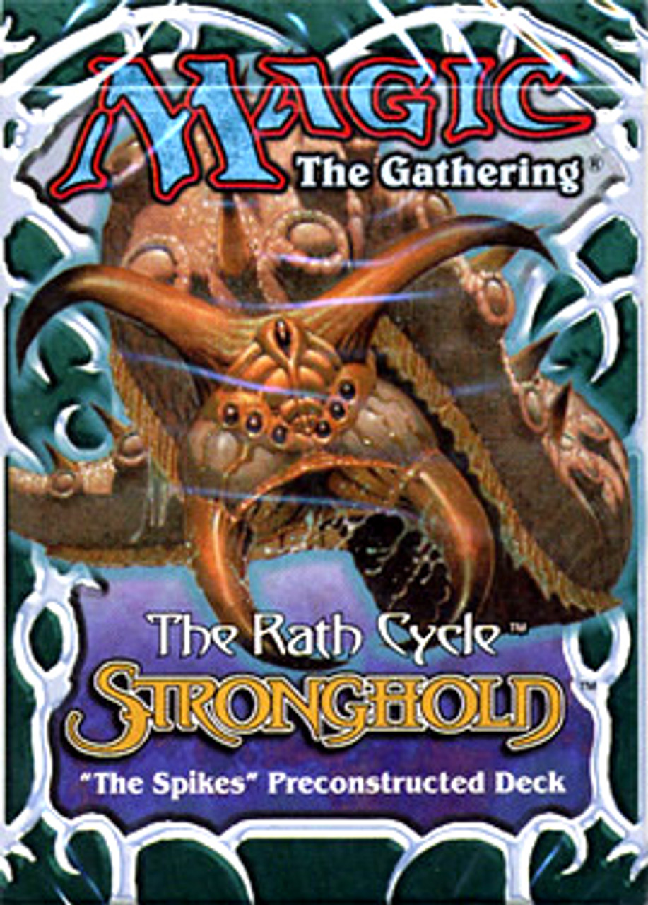 MtG Stronghold The Spikes Theme Deck [Sealed Deck]