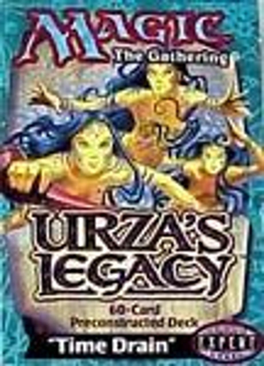 MtG Urza's Legacy Time Drain Theme Deck [Sealed Deck]