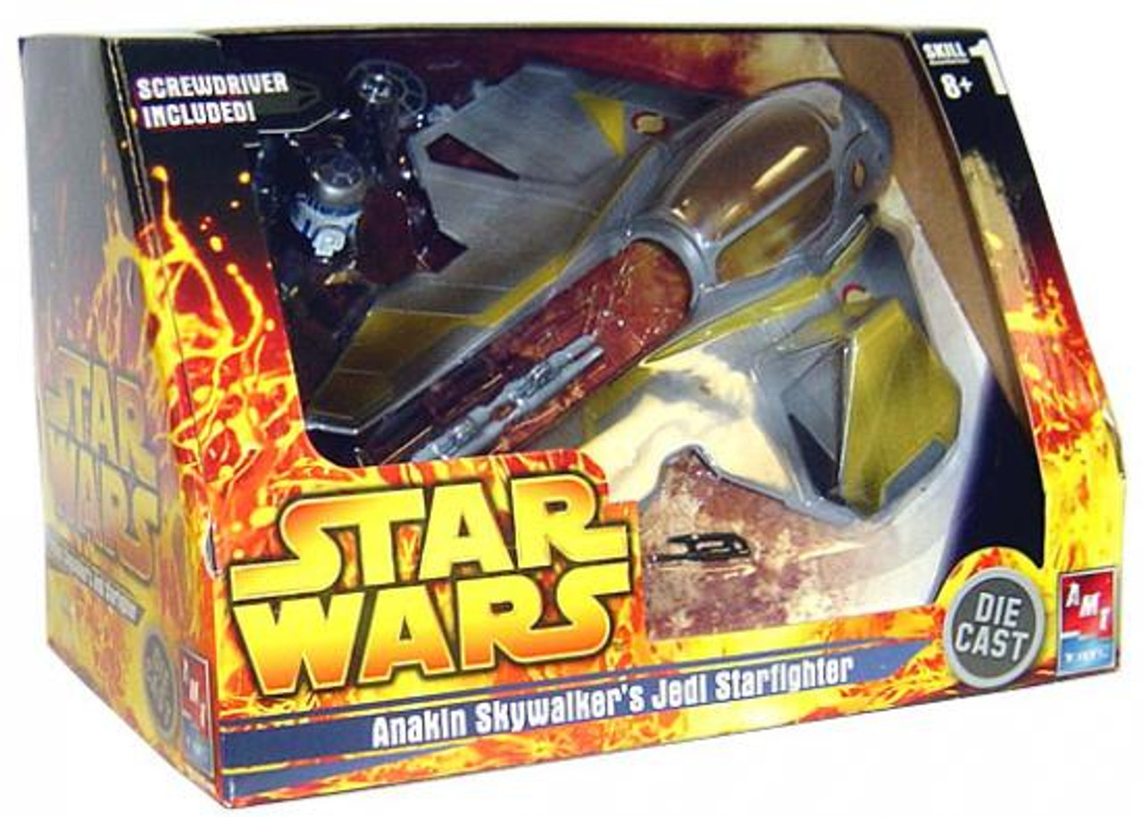 Star Wars Model Kits Anakin Skywalker's Jedi Starfighter Diecast Model Kit