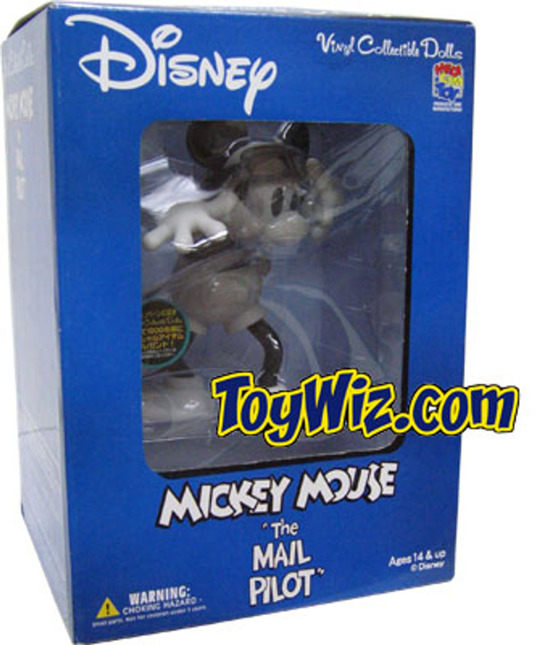"Disney Mickey Mouse Vinyl Figure [""The Mail Pilot""]"
