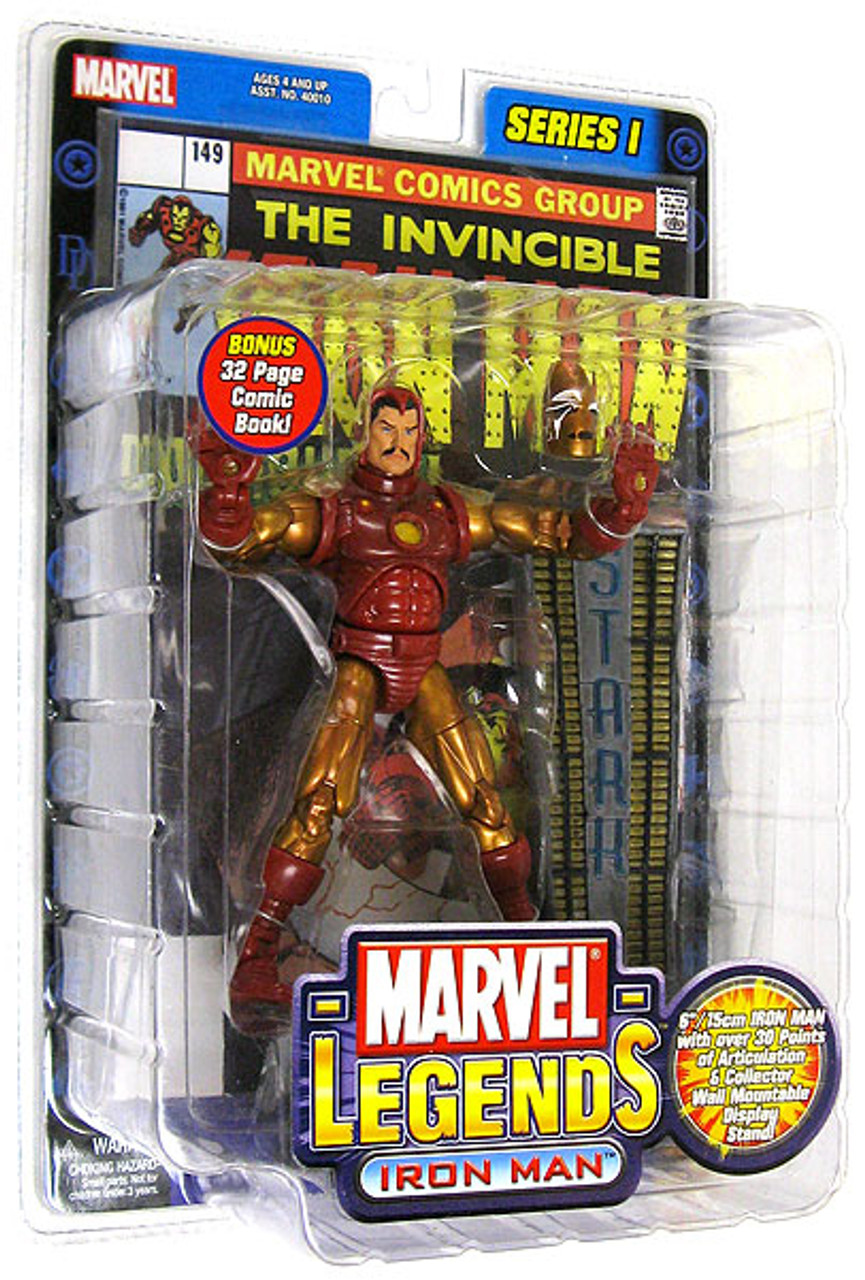 Marvel Legends Iron Man Action Figure [Gold & Red Armor]