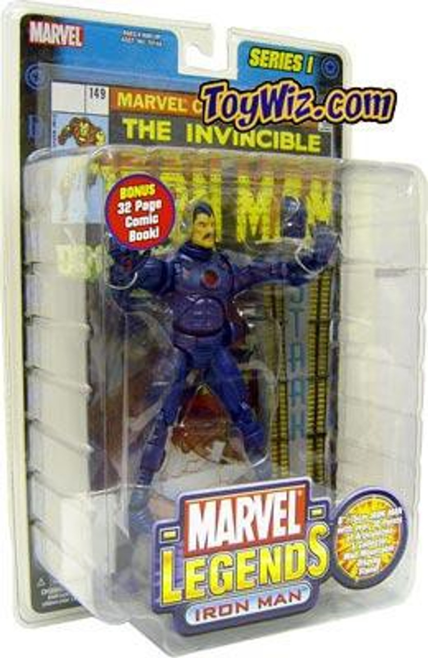 Marvel Legends Iron Man Action Figure [Stealth Armor Variant]