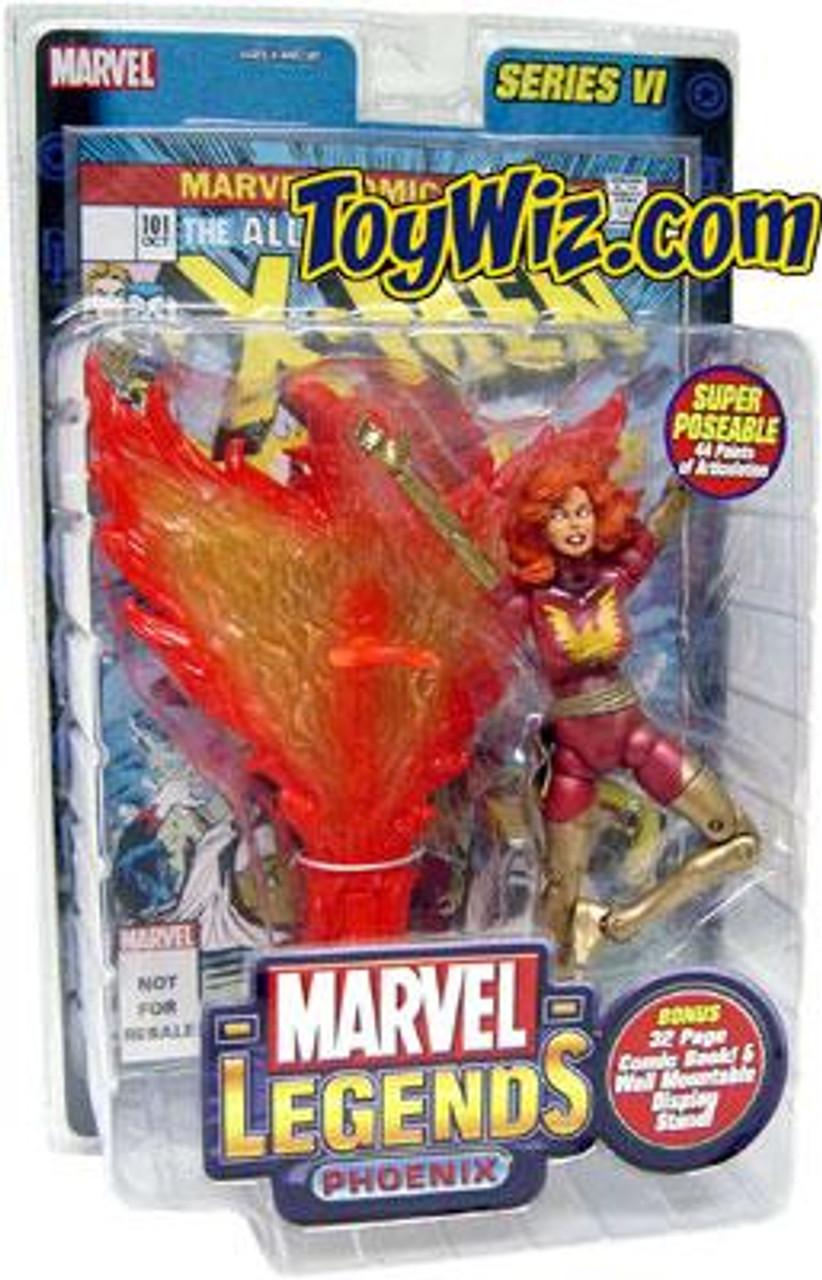 Marvel Legends Series 6 Dark Phoenix Action Figure