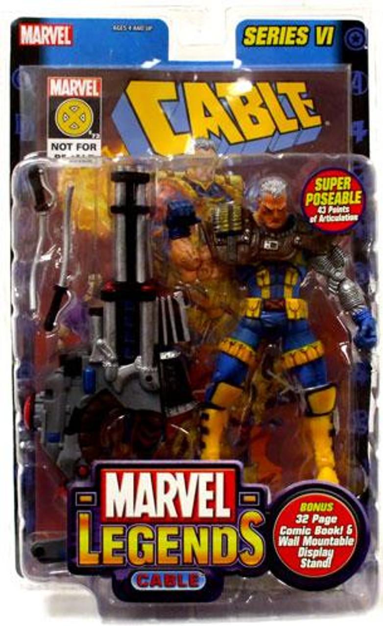 Marvel Legends Series 6 Cable Action Figure