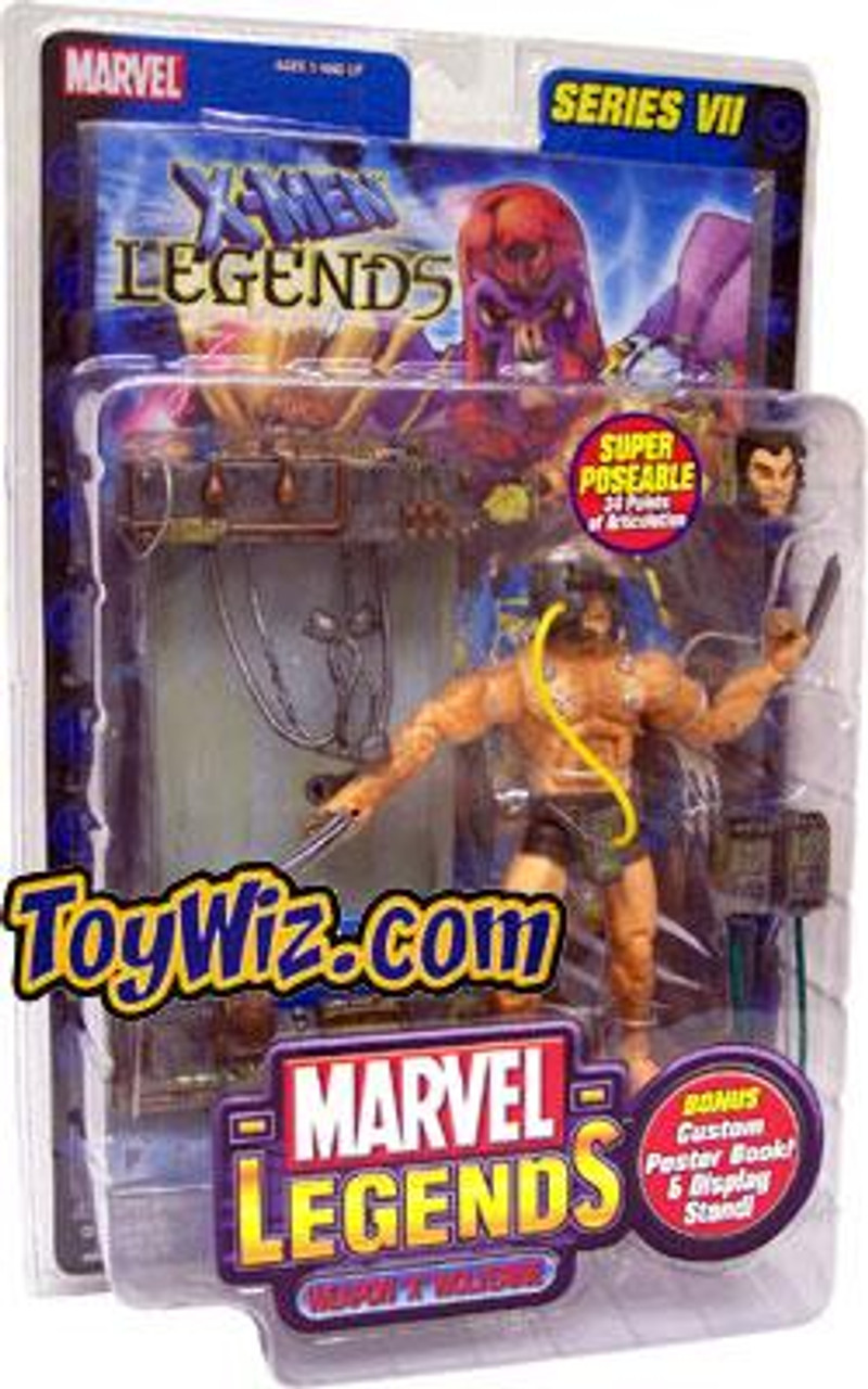 Marvel Legends Series 7 Weapon X Wolverine Action Figure