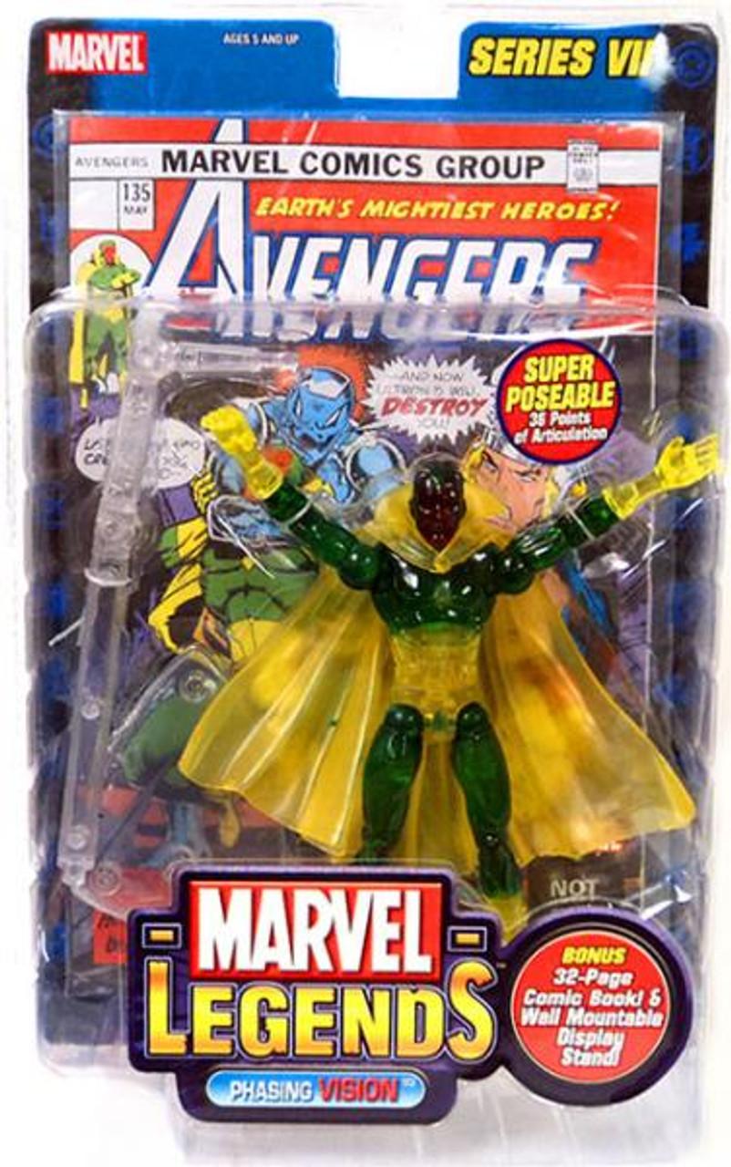 Marvel Legends Series 7 Vision Action Figure [Phasing Variant]
