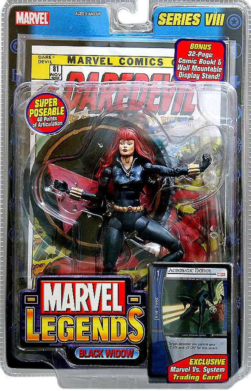Marvel Legends Series 8 Black Widow Action Figure