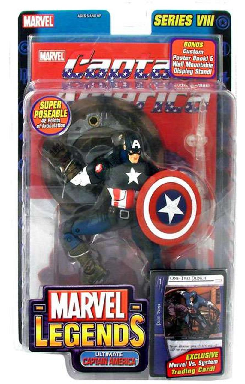 Marvel Legends Series 8 Ultimate Captain America Action Figure