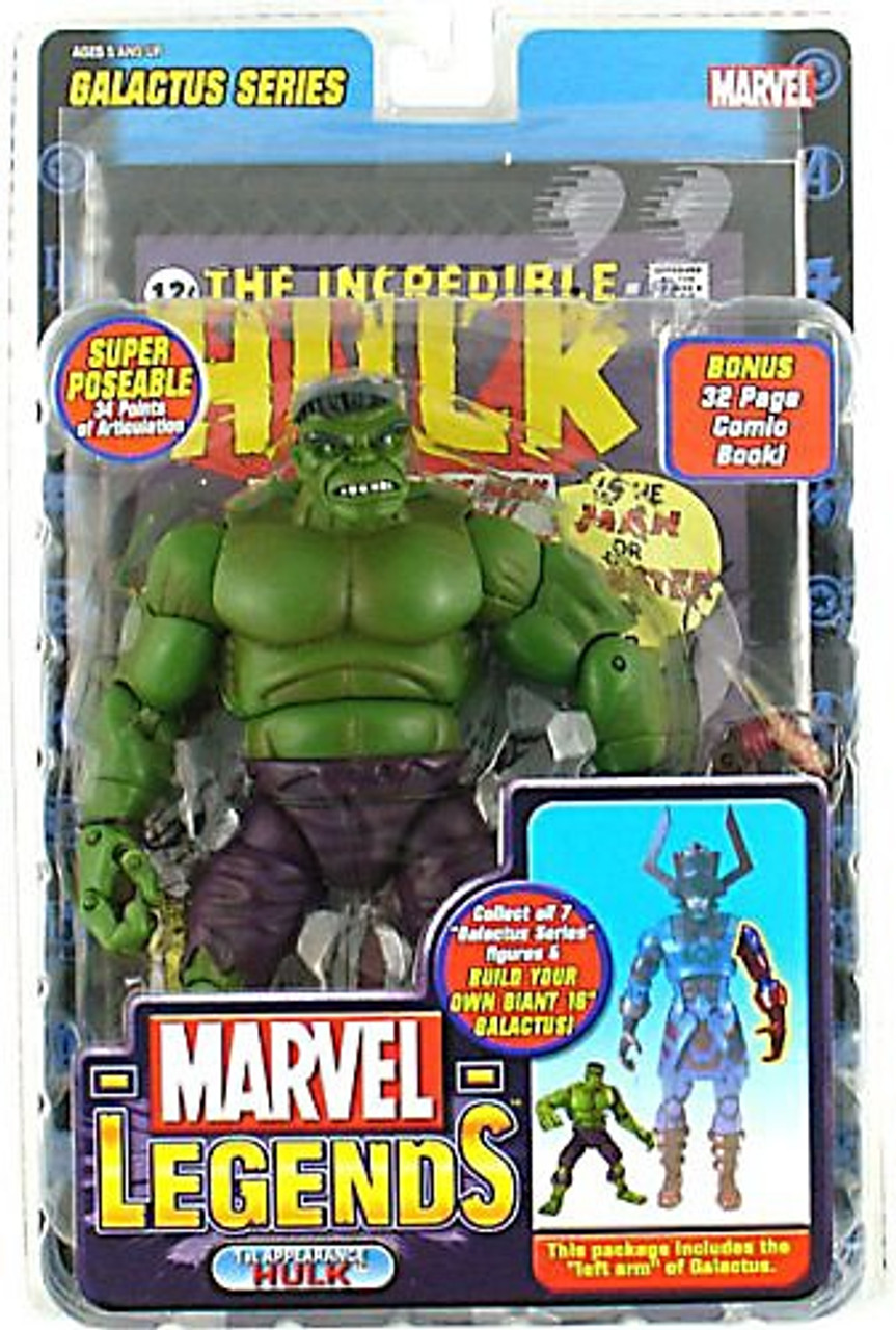 Marvel Legends Series 9 Galactus Hulk Action Figure [1st Appearance, Green Variant]