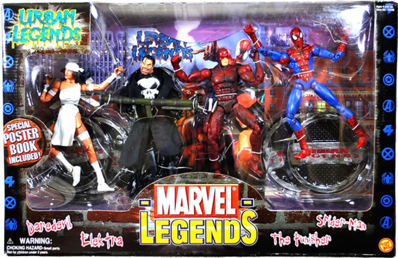 Marvel Legends Boxed Sets Urban Legends Action Figure Boxed Set